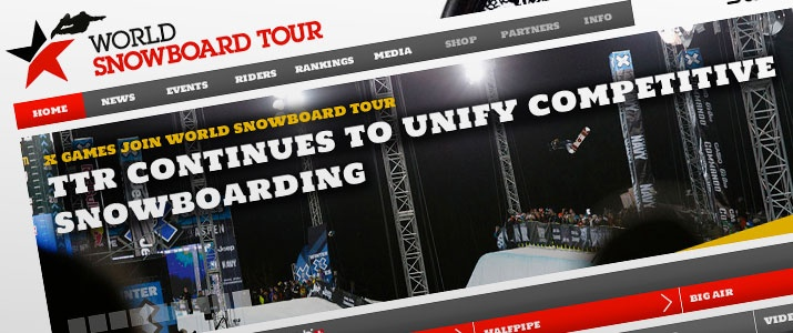 World Snowboard Tour - snowboarding