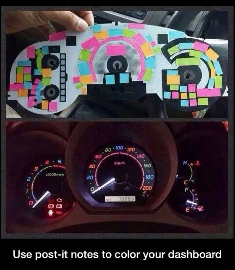 Best Car Mods Ideas On Pinterest DIY Interior Car Mods Cool - Car signs on dashboardlets be honest you have no idea what your car dashboard signs