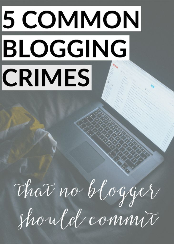 If you want to get serious about blogging, don't make these common mistakes!