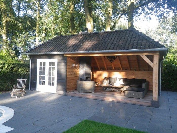 Garden Sheds With Veranda 26 best tuin images on pinterest | gardening, backyard and indoor