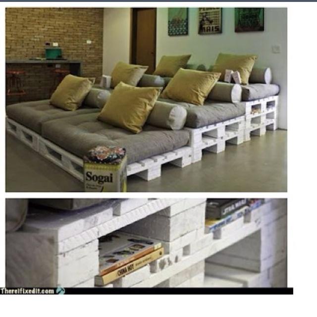 pallets sofa do it yourself pinterest pallet sofa. Black Bedroom Furniture Sets. Home Design Ideas