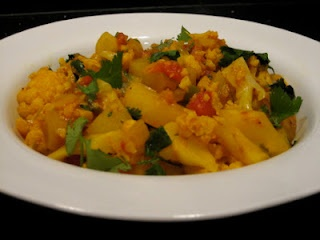 Aloo Gobi - what do you mean you don't like cauliflower!?: Tasty Recipe, Aloo Gobi, Valley Eating, Hudson Valley, Vegetarian Delight, Style Cauliflowers, Indian Style, York Hudson