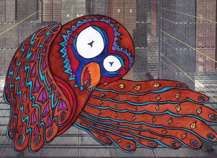 No escape Owl