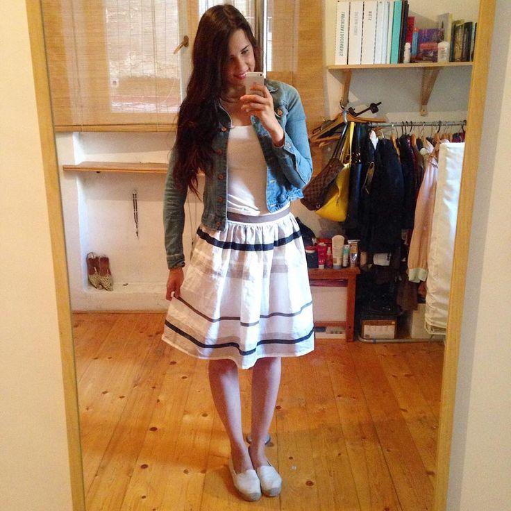 Karolina's Clemence skirt!