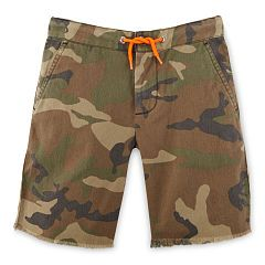 Camo Cotton Canvas Short - Boys 2-7 Pants & Shorts - RalphLauren.com