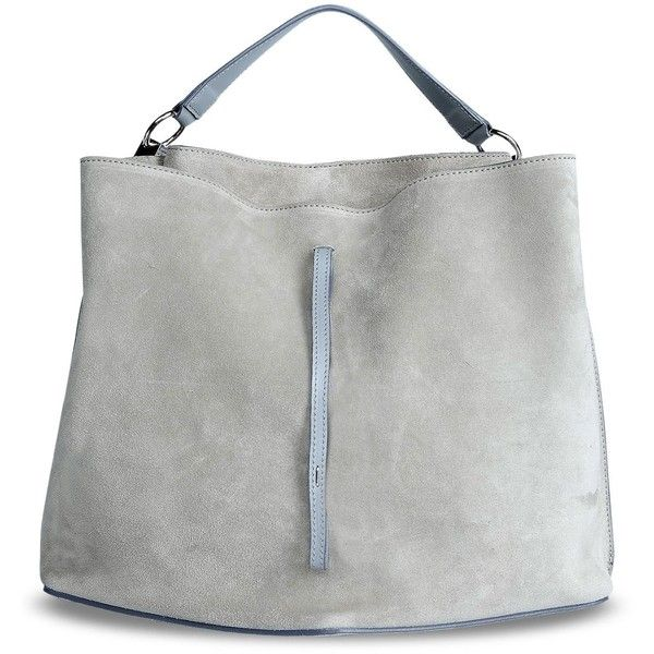 Maison Margiela 11 Shoulder Bag ($1,380) ❤ liked on Polyvore featuring bags, handbags, shoulder bags, grey, gray shoulder bag, gray purse, gray handbags, grey purse and grey handbags