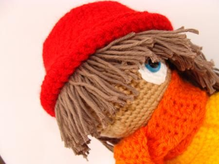 muñeca tejida con ganchillo muñeca amigurumi hilo 100% algodón,relleno algodón sintetico,lana acrílica muñeca tejida con la,tecnica del ganc...