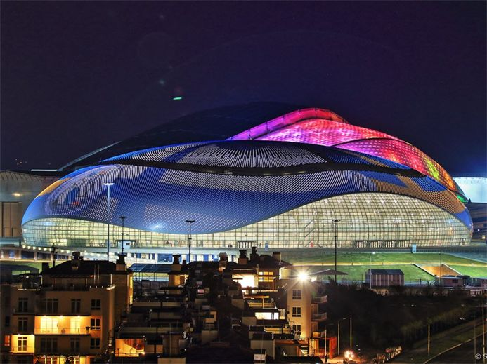 .Sochi 2014 photos «Bolshoy» Ice Dome.