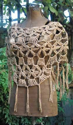 crocheted poncho | Free Crochet Poncho Patterns - Easy Crochet Patterns