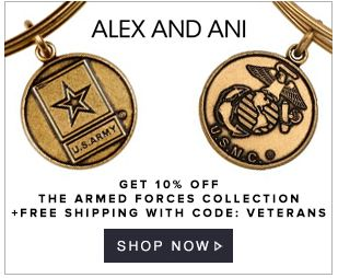 Alex and Ani - 10% off The Armed Forces Collection + Free Shipping - http://www.livingrichwithcoupons.com/2013/11/alex-and-ani-coupon-code-10-off-free-ship.html