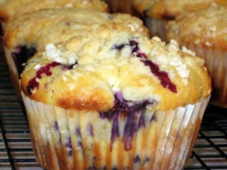 Jumbo Blueberry Cheesecake Muffins | Tasty Kitchen: A Happy Recipe Community!