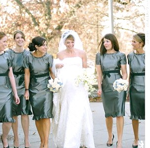 CLASSY and MODEST  BRIDESMAIDS