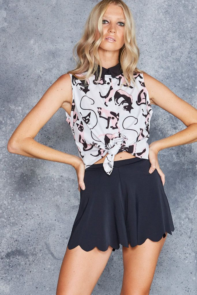 Feline Fine Business Time Shirt - LIMITED, $80AUD