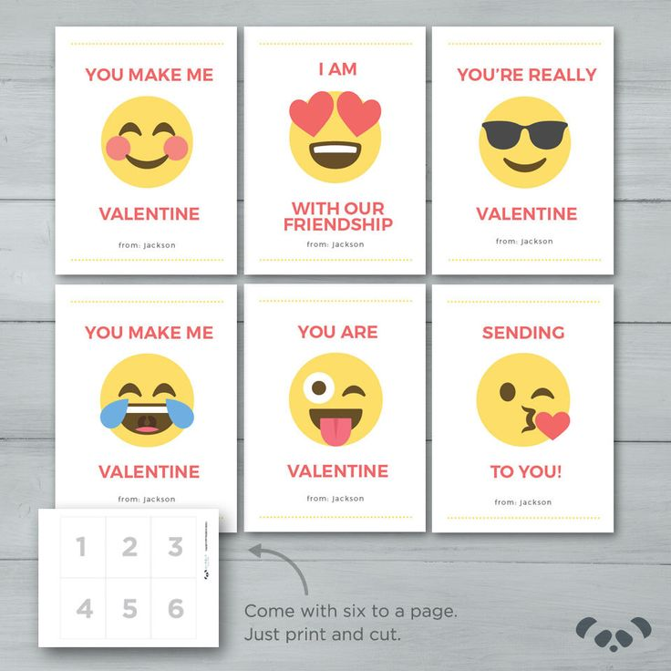 Kids Valentine cards | Emoji Valentines  |  Emoji Kid Valentine Cards | Cool, Smile, Love, Laugh, Silly, Kiss Emoji Face Valentines by PandafunkCreations on Etsy https://www.etsy.com/listing/501516559/kids-valentine-cards-emoji-valentines