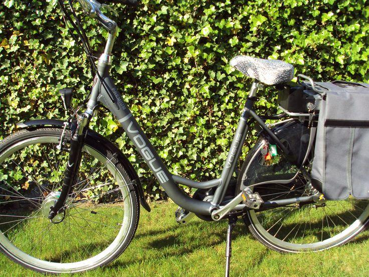 VOGUE Premium originele goedkope elektrische fiets na 4 maanden door ons al omgebouwd naar een storingsvrije elektrische fiets.