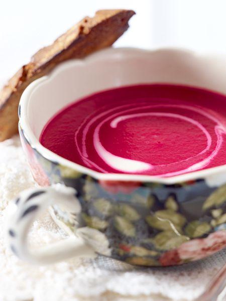 Rote-Bete-Suppe selber machen - so geht's Schritt für Schritt