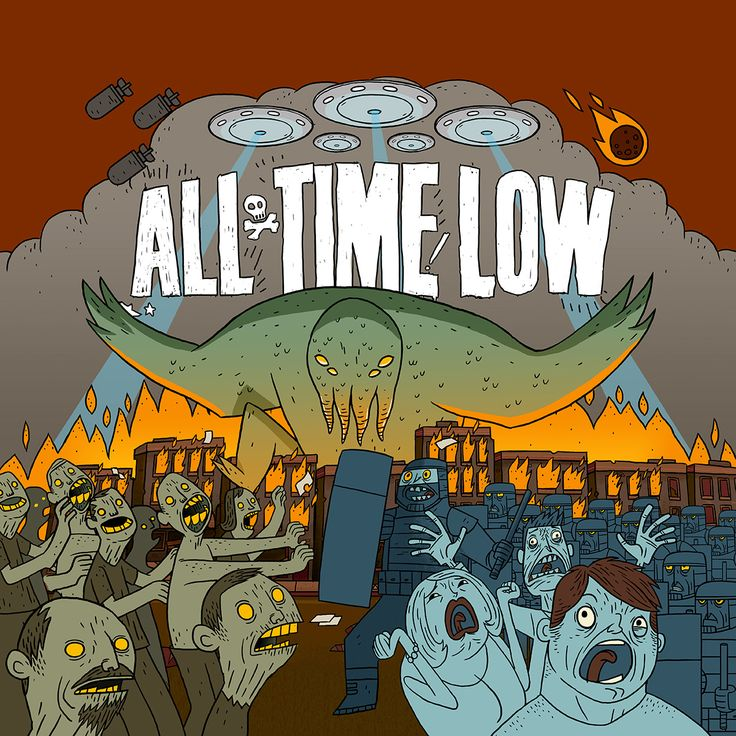 All Time Low album art by tinmancreative, via dribbble