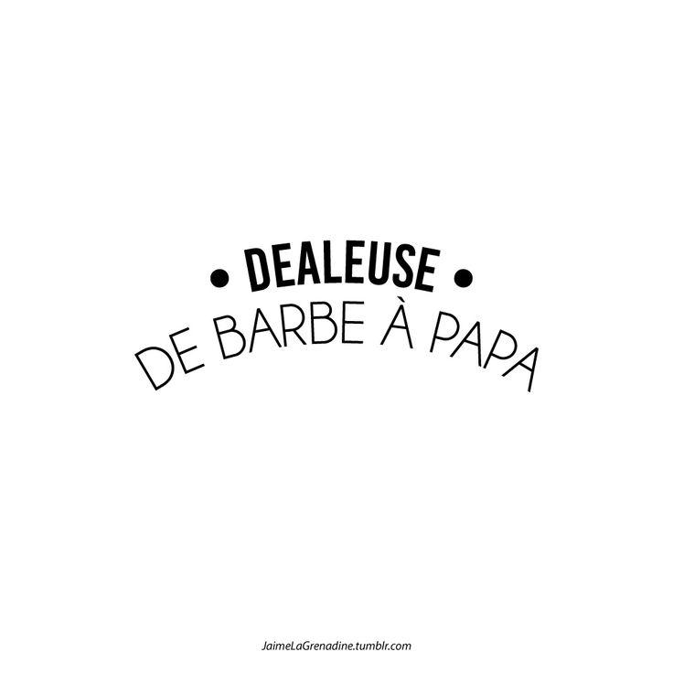 Dealeuse de barbe à papa - #JaimeLaGrenadine