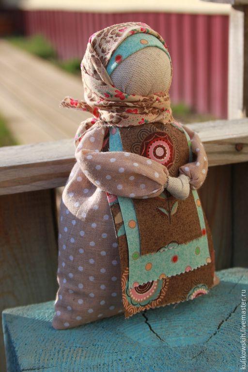 """Купить Кукла """"Сонница-бессонница"""" Резерв - мятный, коричневый, коричневый голубой, травница, ароматерапия"""