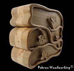 """Pabreu WoodWorking: """"Ivy"""" Band saw box - """"Era"""" Caixa em serra de fita"""