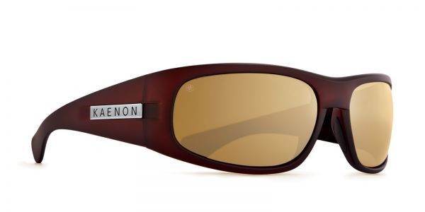 Kaenon - Lewi Gold Coast Sunglasses, B12 Polarized Gold Mirror Lenses