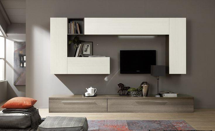 colore pareti soggiorno grigio - Cerca con Google