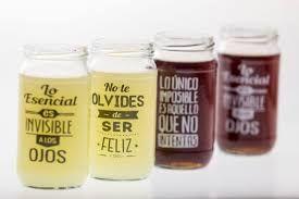 Resultado de imagen para  botellas de vidrio decorados