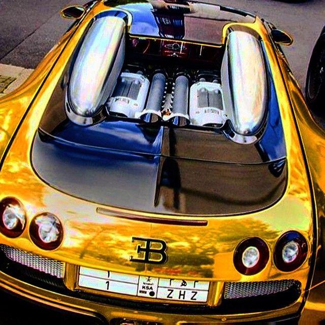 U201c#Bugatti #BugattiVeyron #SuperSport #Gold #Riyadh #KSA #Dubai #