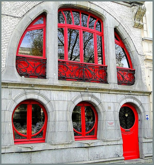 Art Nouveau houses in Antwerp 1