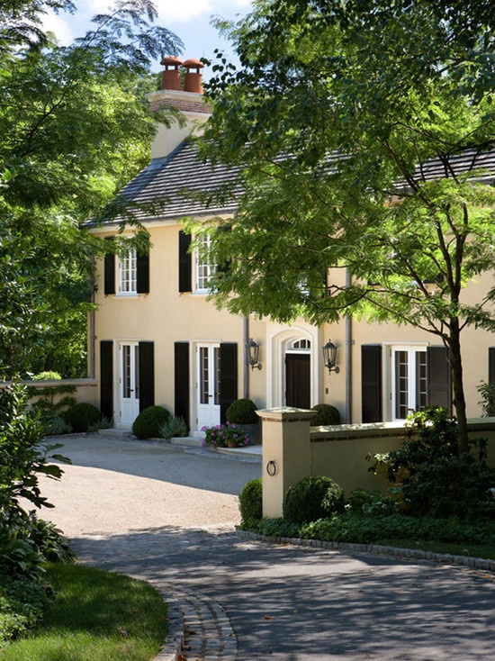 99 best french normandy and country style images on - Country style exterior house colors ...