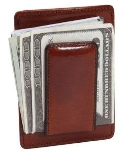 Ultra slim and convenient, this finely crafted front pocket wallet carries currency under the magnetic clip and up to 10 credit cards. #Wallet #Front Pocket Wallet