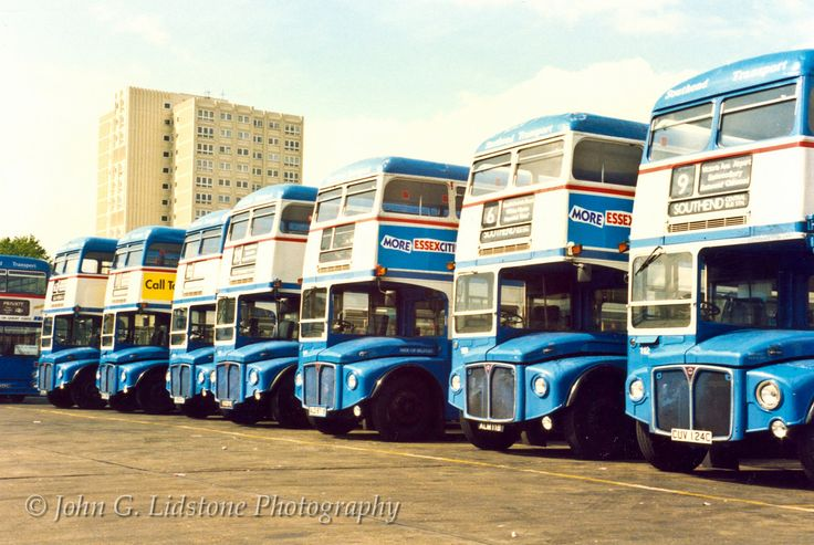 Former London RM's with Southend Transport