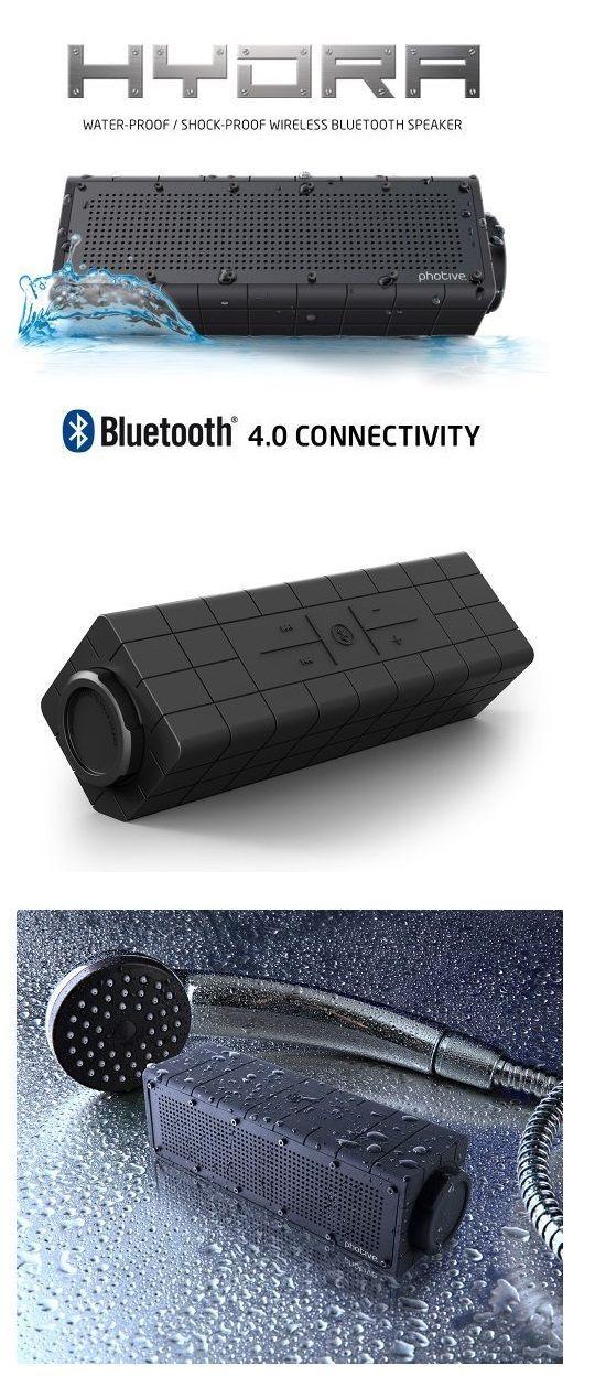 Water Proof Speaker. Your Favorite Music In Shower. http://geekandhip.com/product/waterproof-wireless-bluetooth-speaker/