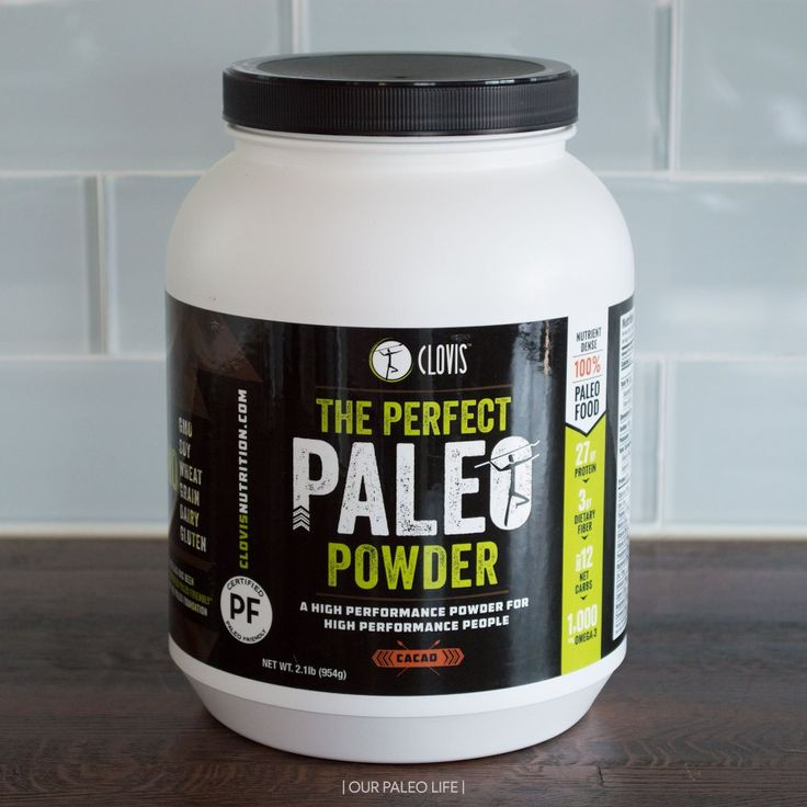 certified paleo protein powder
