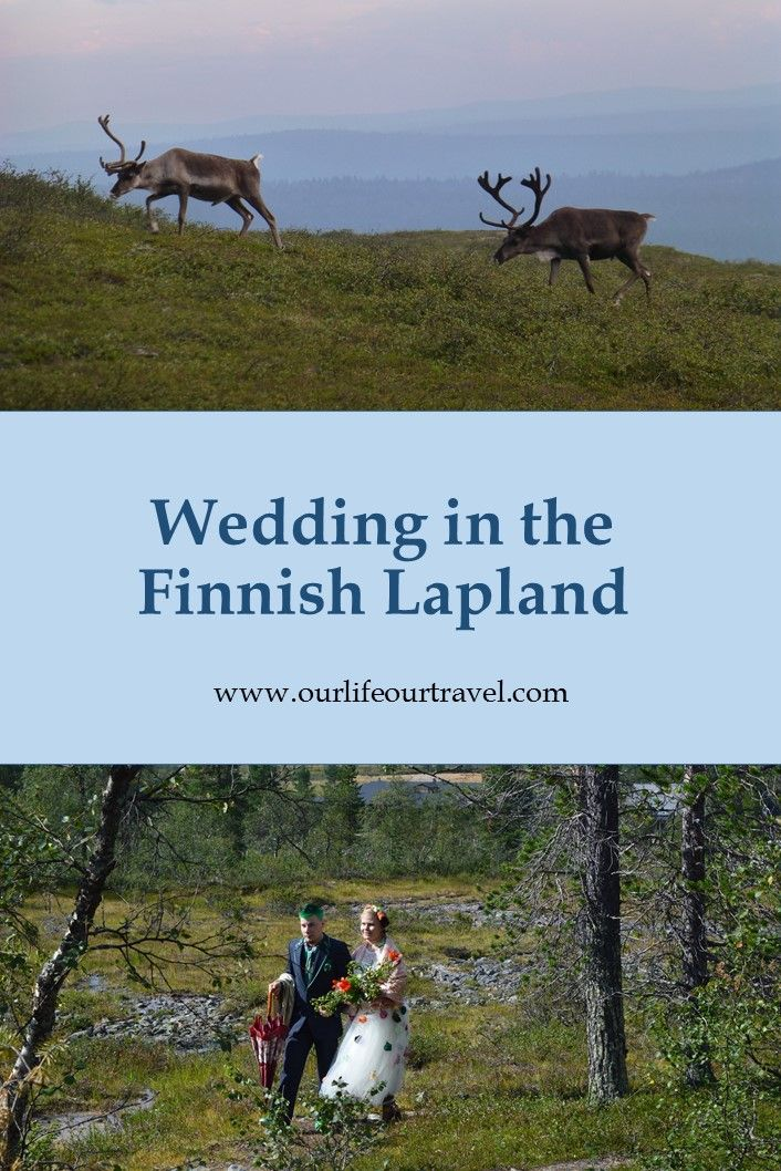 What is your dream wedding? Would you like to have the ceremony in the nature? In a national park? How about magical Lapland?