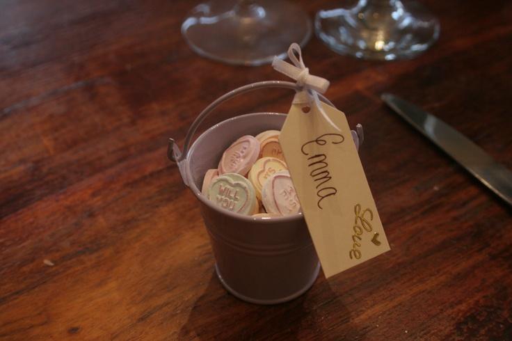 Wedding Favour- Mini buckets