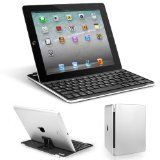 Anker® Ultrathin iPad Bluetooth Wireless Keyboard Aluminum Cover with Stand for iPad 4 / 3 / 2 – Black