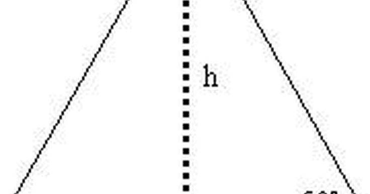 Cómo calcular el área de un triángulo equilátero. Un triángulo equilátero es un triángulo con sus tres lados de igual longitud. La superficie de un polígono en dos dimensiones como por ejemplo un triángulo es el área total contenida por los lados del polígono. Los tres ángulos del triángulo equilátero también son de igual medida según la geometría Euclidiana. Ya que la medida total de los ángulos ...