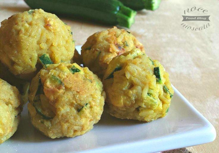 Polpette di riso zucchine e curry