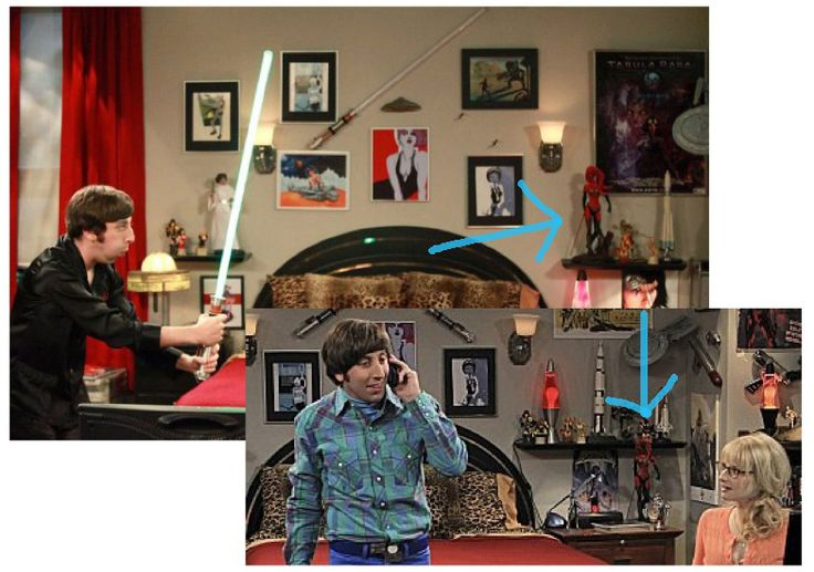 Find That Prop!: Howard Wolowitz's Darth Talon Statue