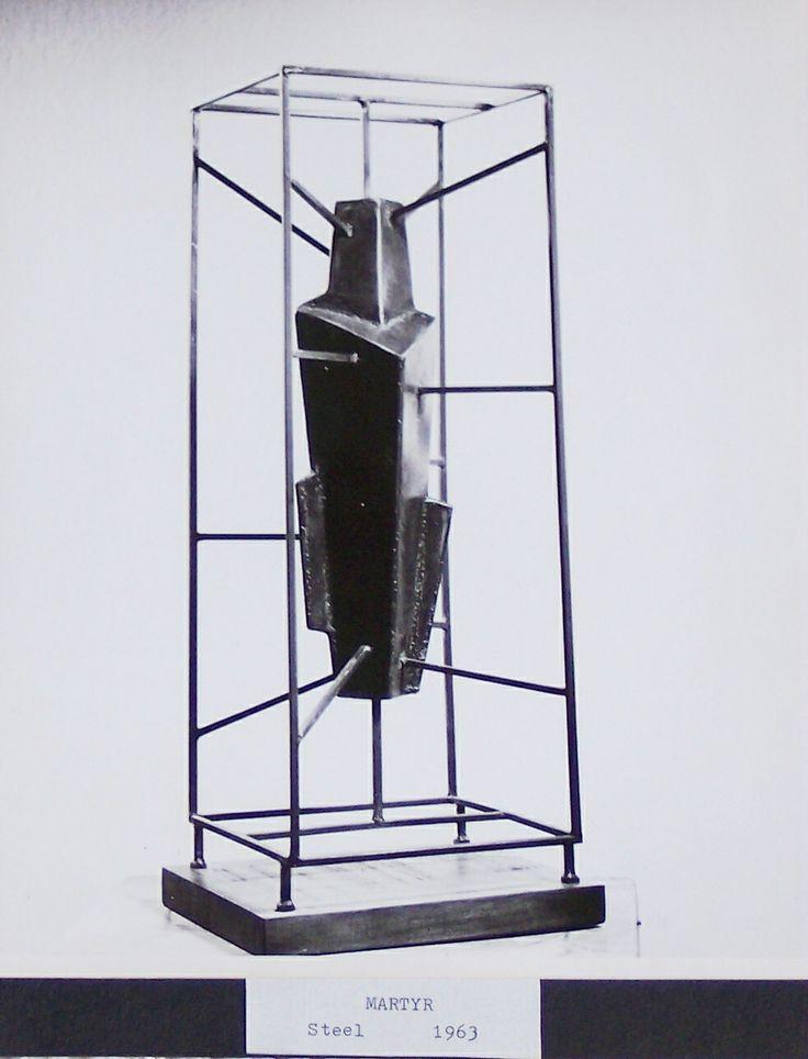 Martyr, 1963, steel - Artist: Harry E. Stinson