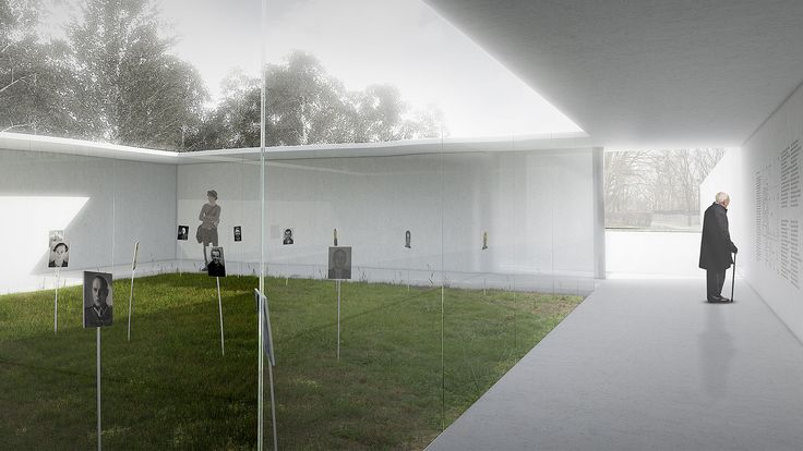 The Third Prize in the competition for Pantheon - Mausoleum to Victims of Communism Crimes.  Investor: Council for the Protection of Struggle and Martyrdom Sites Place: Powązki Military Cemetery in Warsaw  Design team: Michał Adamczyk, Piotr Bylka, Piotr Musiałowski, Krzysztof Nowotka