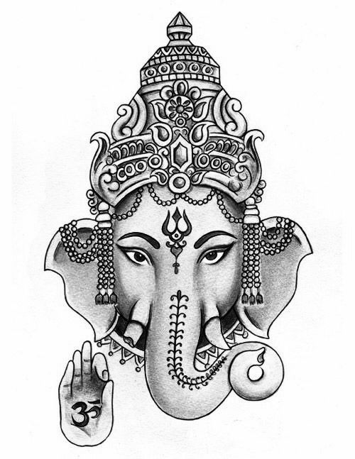 best 25 ganesha tattoo ideas on pinterest ganesha ganesha tattoo thigh and ganesh. Black Bedroom Furniture Sets. Home Design Ideas