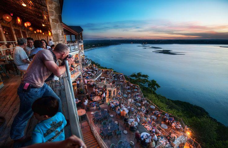 The Oasis: touristy but ... worth the view #austin #sunset #dinner #margaritas #laketravis