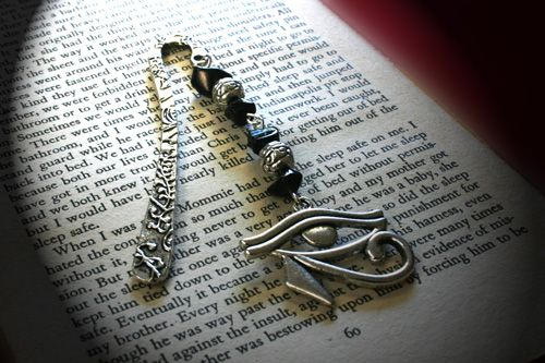 AQ Natural Gemstone Bookmark - ONYX