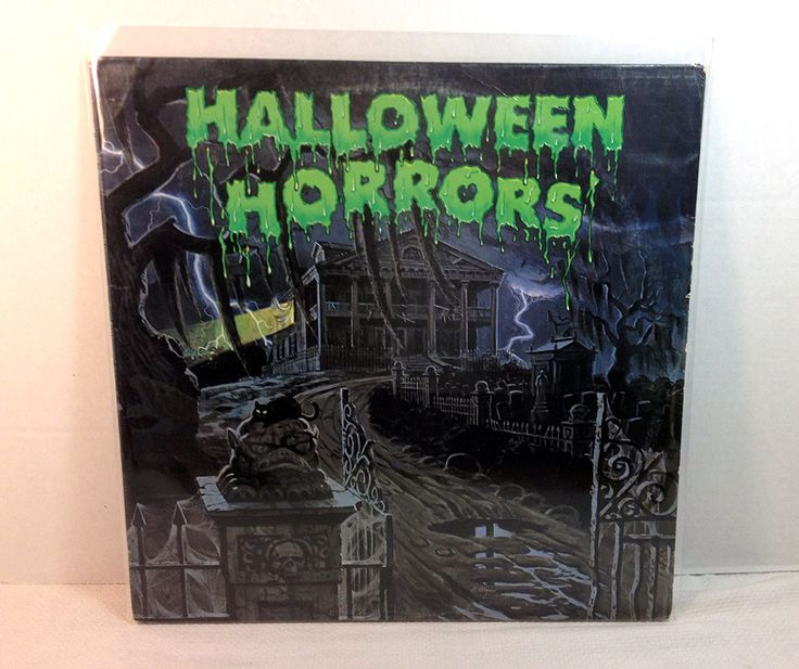 Halloween Horrors: The Sounds Of Halloween 1979 Vinyl Record vintage LP 70's Spooky Story Scary Sound Effects