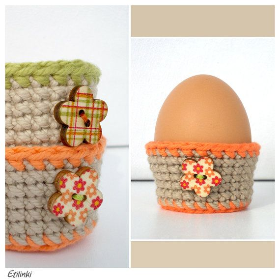 The 25 best crochet egg cozy ideas on pinterest crochet for egg cups set of 2 easter egg cozy crochet egg cosy decor easter table decoration spring decor hostess gifts easter baskets negle