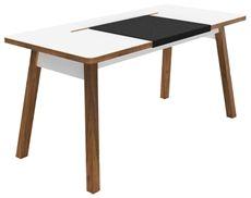 StudioDesk från Bluelounge och i det lite större måttet 150x70 cm. Ett bord som har plats för alla dina tillbehör som döljs under under en utdragbar bordsskiva. #bluelounge #skrivbord #dialogdetails