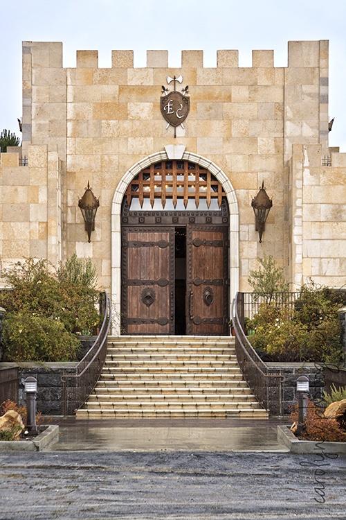 Eagle Castle Winery, Paso Robles California, architecture