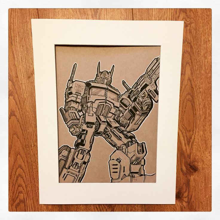 Prime ( fine liner & copic markers on tonal ) By Huw Williams